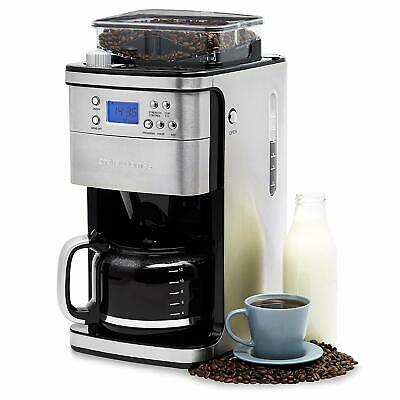 View Details Andrew James Bean To Cup Coffee Machine | Filter Coffee Maker With Grinder • 98.99£