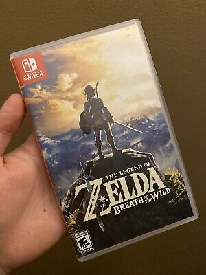 Legend Of Zelda: Breath Of The Wild (Nintendo Switch, 2017) • 40$