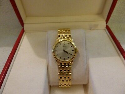 OMEGA DE VILLE PRESTIGE All 18ct Gold Ladies Wrist Watch.  • 4,750£