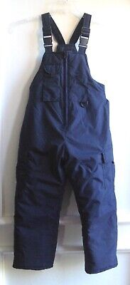 $12.99 • Buy SporTrax Active Performance Unisex Youth Kid's Insulated Bib Snow Pants, Navy, 8