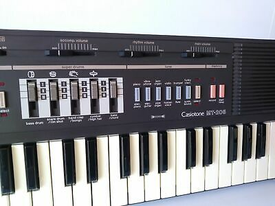 $49.95 • Buy FUN Vintage 1986 CasioTone MT-205 Portable Electronic Synthesizer Piano Keyboard
