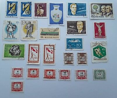 Hungary Magyar Postage Stamps X 25    • 2.50£