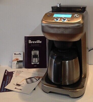 $139.99 • Buy Breville Grind Control 1-12 Cup Coffee Maker BDC650BSS Steep Brew Pause