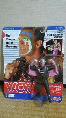 $ CDN312.44 • Buy WCW Galoob UK Exclusive Sting With Costume Unopend