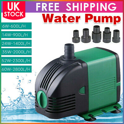 £15.99 • Buy Water Pump Feature Fountain Outdoor Garden Fish Pond Completely Submersible UK