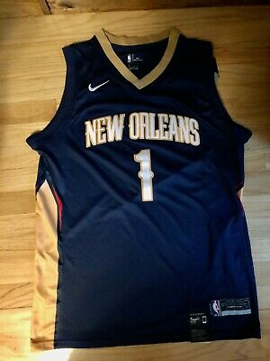 $44.99 • Buy New Orleans Pelicans Zion Williamson Jersey: Home Navy Blue+gold