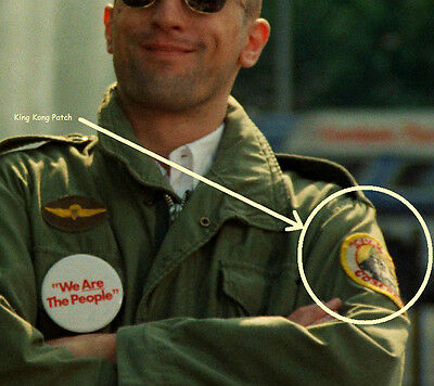 £9.35 • Buy FANCY DRESS HALLOWEEN COSTUME PARTY MOVIE PROP Taxi Driver M-65 Jacket Patch #1