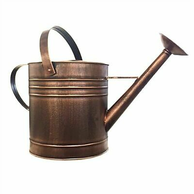 AU41.18 • Buy Antique Copper Finished Galvanised Steel Watering 9L Can Plants Yard Garden New