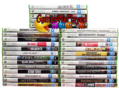 AU34.90 • Buy  Xbox360 M Rated Games Microsoft PAL Large Dropdown Selection