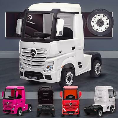 £399 • Buy Mercedes-Benz Actros Licensed Ride On Car With 4WD Truck Electric Battery Power