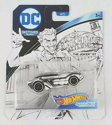 $5.95 • Buy Hot Wheels | DC Sketched Series Character Cars - 4/5 The Joker GT | Brand New