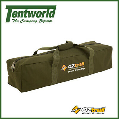 AU24.90 • Buy Oztrail Camping Dome Tent Pole Storage Bag Canvas