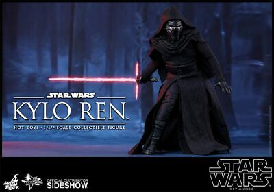 $234.99 • Buy Hot Toys Movie Masterpiece Star Wars KYLO REN MMS320 Force Awakens New Sealed