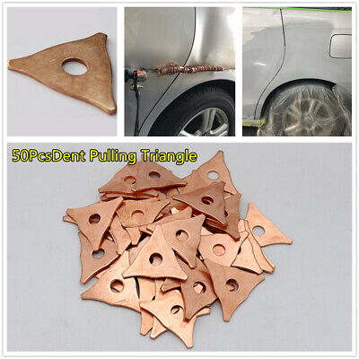 $ CDN37.62 • Buy Triangle Dent Pulling Ring Washer Car Welder Soldering Panel Puller Parts 50Pcs
