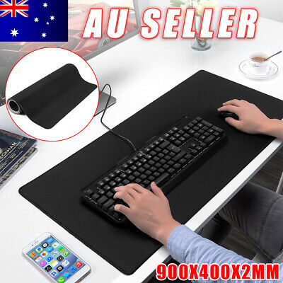 AU16.95 • Buy Extra Large Gaming Mousepad Gamer Anti-slip Rubber Mouse Pad Desk Mat 900x400mm