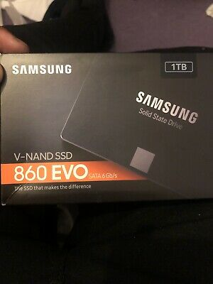 View Details Samsung 860 EVO 1TB,Internal,2.5 Inch (MZ76E1T0BW) Solid State Drive • 110.00£