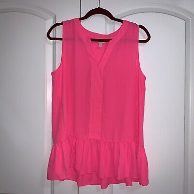 $34 • Buy Lilly Pulitzer Gramercy Tank Top Shirt GORGEOUS Pink Size Medium PERFECT