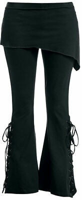 Spiral Direct PLAIN P004G459 2IN1 BOOT-CUT LEGGINGS WITH MICRO SLANT SKIRT • 27.99£