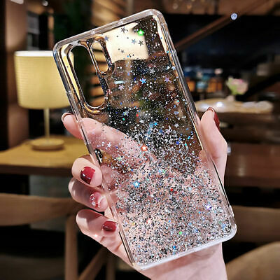 $ CDN4.75 • Buy For Samsung Galaxy Note 10 S10 S9 S8 Plus Bling Glitter Star Silicone Case Cover