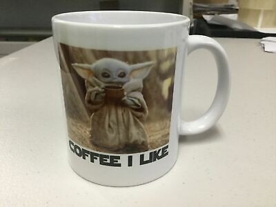 $14.99 • Buy 11 Oz. MUG BABY YODA COFFEE I LIKE,  FUNNY MUG