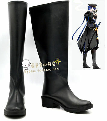 $45 • Buy VOCALOID Gakupo Black Cosplay Boots Shoes Shoe Boot  Halloween Christmas