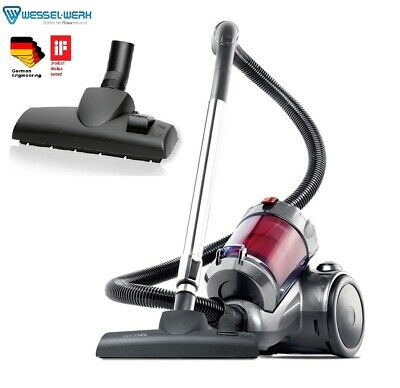 AU159.99 • Buy New 2400W Multi Cyclonic Vacuum Cleaner With German Wessel Energy Efficient Head