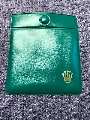 $ CDN59.47 • Buy Vintage 70's Genuine Old Stock Rolex Anchor Pocket Pouch (Unused)