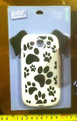 Claire's Claires Accessories Dog Paws Samsung Galaxy S3 Phone Cover £8 RRP • 1.99£
