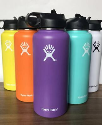 $29.69 • Buy Hydro Flask Water Bottle Stainless Steel & Vacuum Insulated With Straw Lid_#32OZ