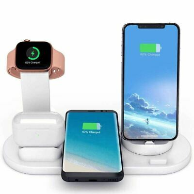 $ CDN36.95 • Buy Fast Charging Wireless Charger Stand 3 In 1 For Apple Watch Airpods Qi IPhone