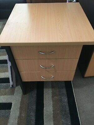 AU200 • Buy Office Furniture Package Including 2 Desks, And 2 Sets Of Drawers