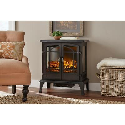 $126.70 • Buy Electric Stove Infrared 1,000 Sq. Ft. Fireplace Panoramic Heater Legion In Black