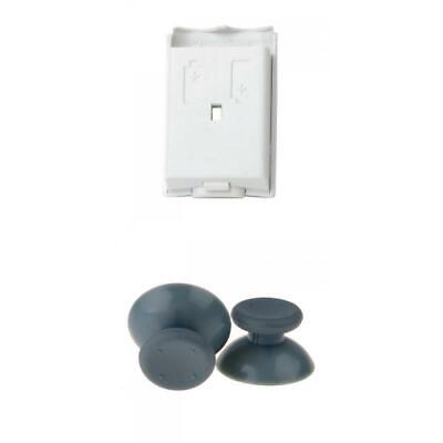 $6.22 • Buy 2x Analog Thumb Sticks Joysticks + Battery Compartment For Xbox 360 Controller