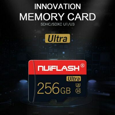 $9.99 • Buy 256GB SD-Card Flash TF Memory Cards U3 C10 For Cell Phone Tablets Card