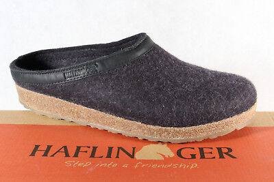 Haflinger Men's Slippers Slippers Grey 713001 New • 45.56£