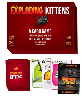 AU36.30 • Buy Exploding Kittens Card Game NEW