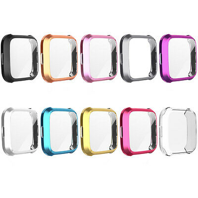 $ CDN8.03 • Buy For Fitbit Versa Lite Watch Case Slim Full Screen Protector Protect Bumper Cover