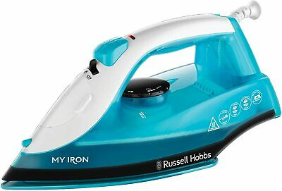View Details Russell Hobbs 25580 My Iron Steam Iron Ceramic Soleplate 260 ML Self-Clean  • 14.94£