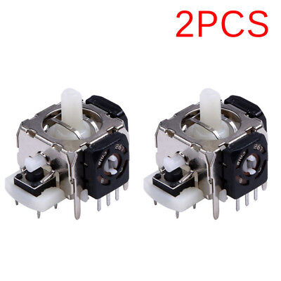 $6.08 • Buy 2PCS Replacement 3D Joystick Analog Stick For Xbox 360 Wireless Controller To