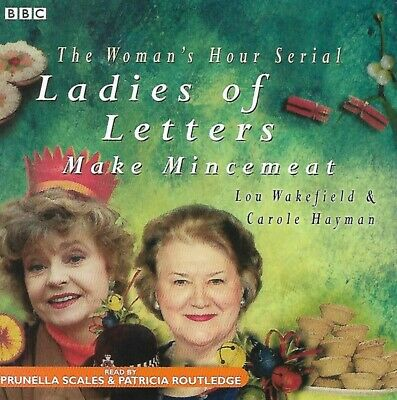 Ladies Of Letters - Make Mincemeat : CD AUDIO BOOK BBC 2006 • 18.90£