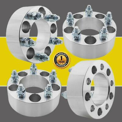 $73.19 • Buy 4) 2  Wheel Spacers Adapters 5x114.3 For Jeep Liberty Ford Edge Explorer 1/2 X20