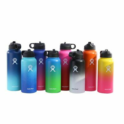 $26.99 • Buy Hydro Flask Stainless Steel Water Bottle Insulated Straw Lid Drinking
