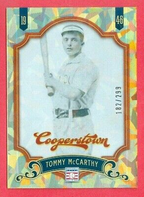 $2.49 • Buy 2012 PANINI COOPERSTOWN (BB) Tommy McCarthy SP CRYSTAL FOIL CARD #38 #d 182/299