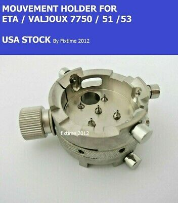 $135 • Buy New !  Watch Movement Holder Eta / Valjoux 7750 7751 7753 Repair Tool Watchmaker