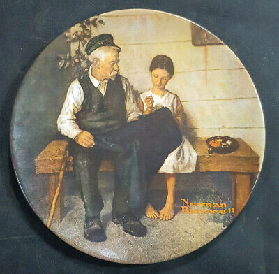 $ CDN14.77 • Buy Norman Rockwell The Lighthouse Keepers Daughter Collector Knowles Limited Plate