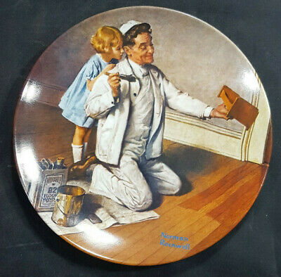 $ CDN8.77 • Buy Norman Rockwell HERITAGE Vintage Collector Plate  THE PAINTER   1983 Knowles
