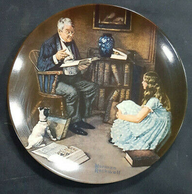 $ CDN14.77 • Buy Knowles Norman Rockwell Collector Plate The Storyteller Heritage Collection 1984