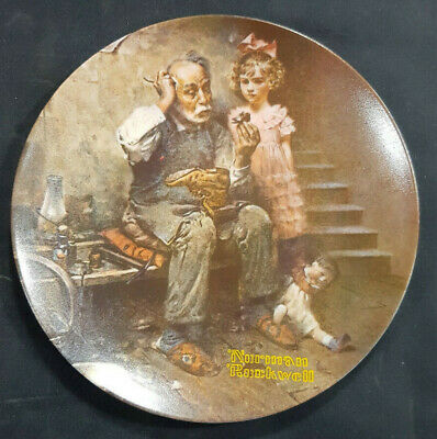$ CDN14.77 • Buy Norman Rockwell  The Cobbler  Collector Plate Knowles Company 1978