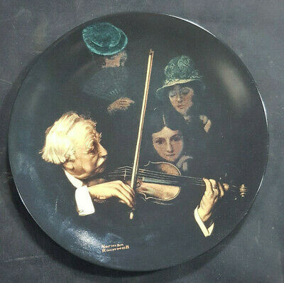 $ CDN14.77 • Buy Master Violinist Norman Rockwell Knowles China Collector Plate Limited Edit 1996