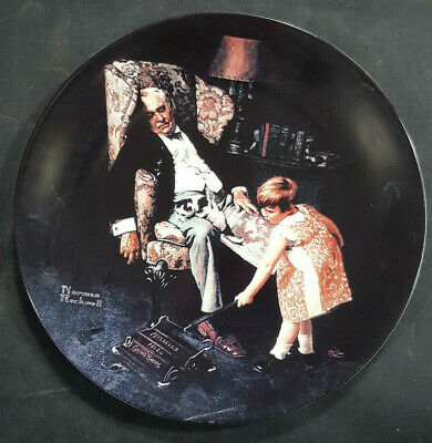 $ CDN14.77 • Buy Norman Rockwell THE DREAMER Knowles China Collector Plate  Limited Edit 1997